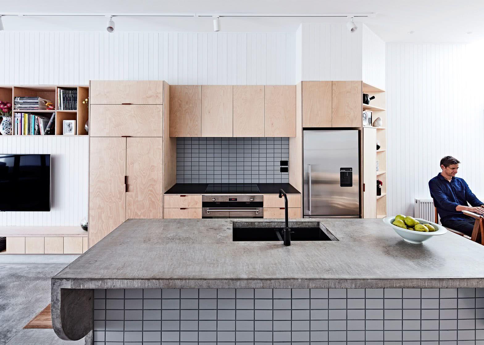 A simplicidade dos materiais pedem mais cuidado com os acabamentos