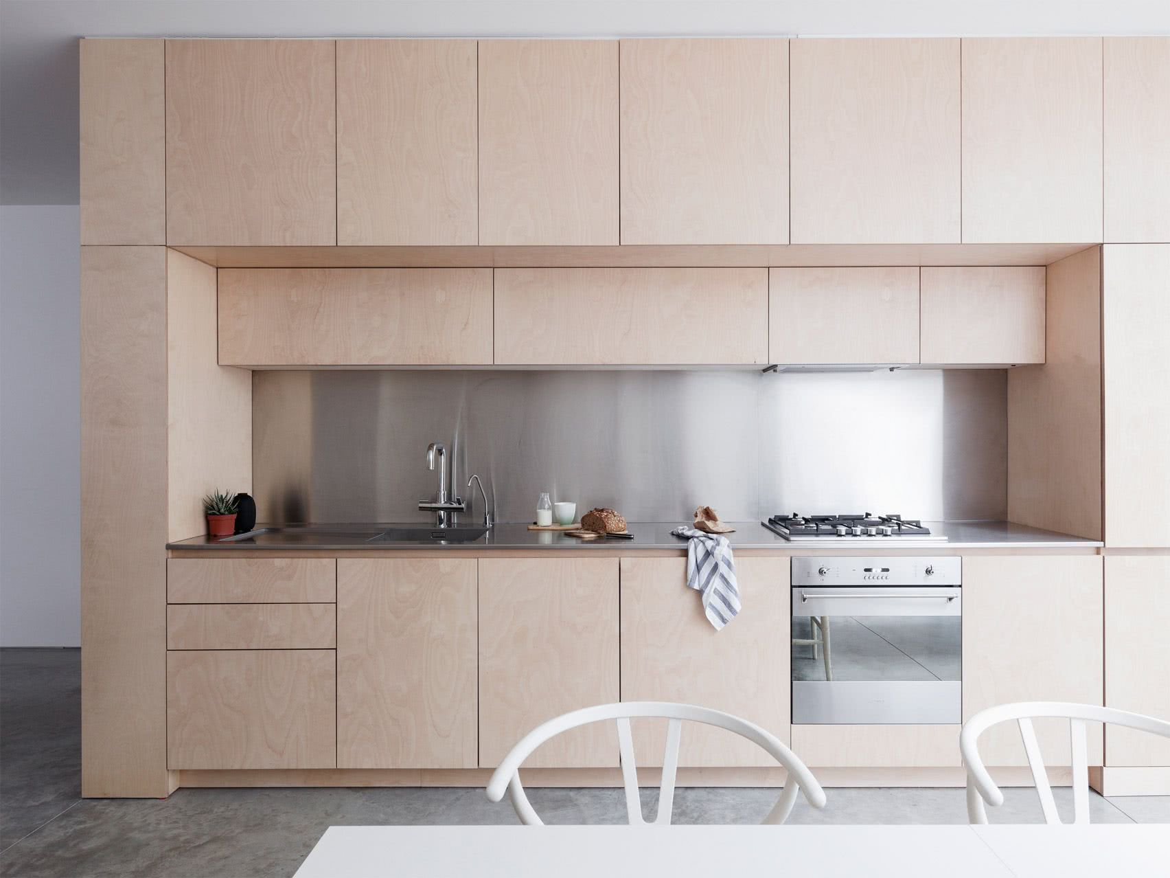 Cozinha com estilo minimalista