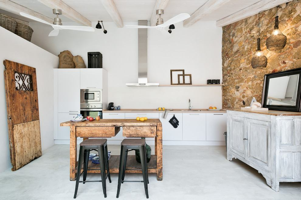 Cozinha rústica elegante combina a modernidade do estilo escandinavo