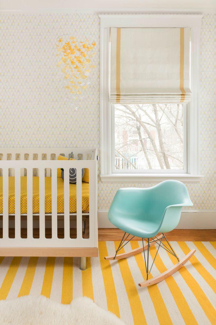 Quarto de bebê amarelo: 60+ modelos e dicas incríveis!
