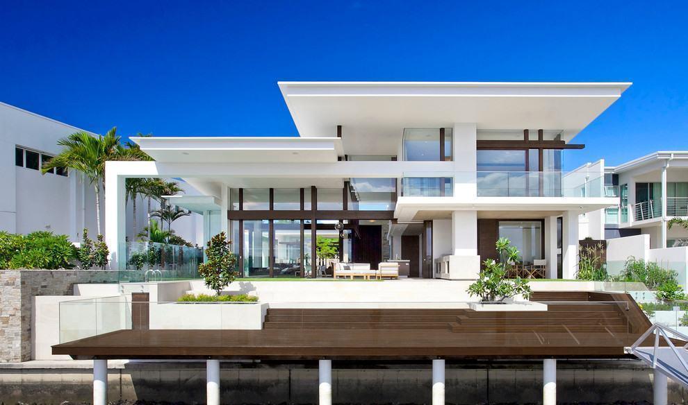 Casas luxuosas e chiques 72 modelos e fotos incr veis - Les plus belles entrees de maison ...