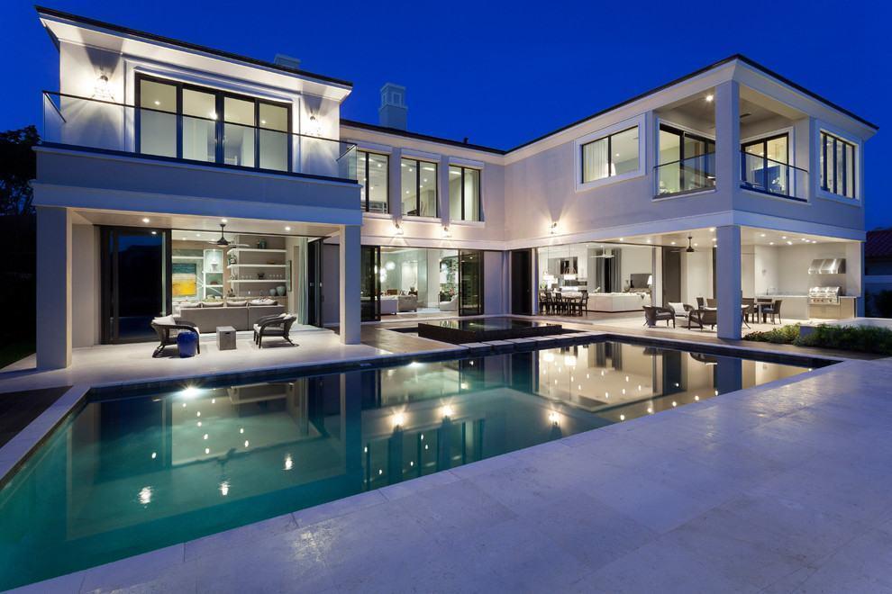 Casas luxuosas e chiques 72 modelos e fotos incr veis for Casas modernas grandes por dentro