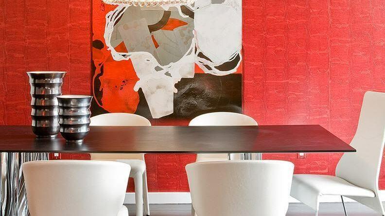 Parede Vermelha: 60+ Projetos e Fotos Incríveis!