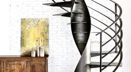 Escada Caracol: 60+ Modelos e Fotos Incríveis!