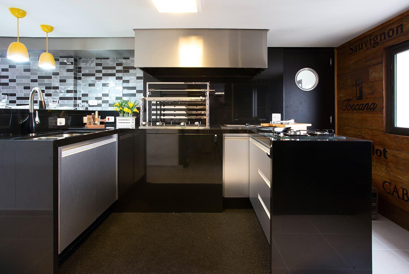 Cozinha Com Churrasqueira 60 Projetos E Fotos