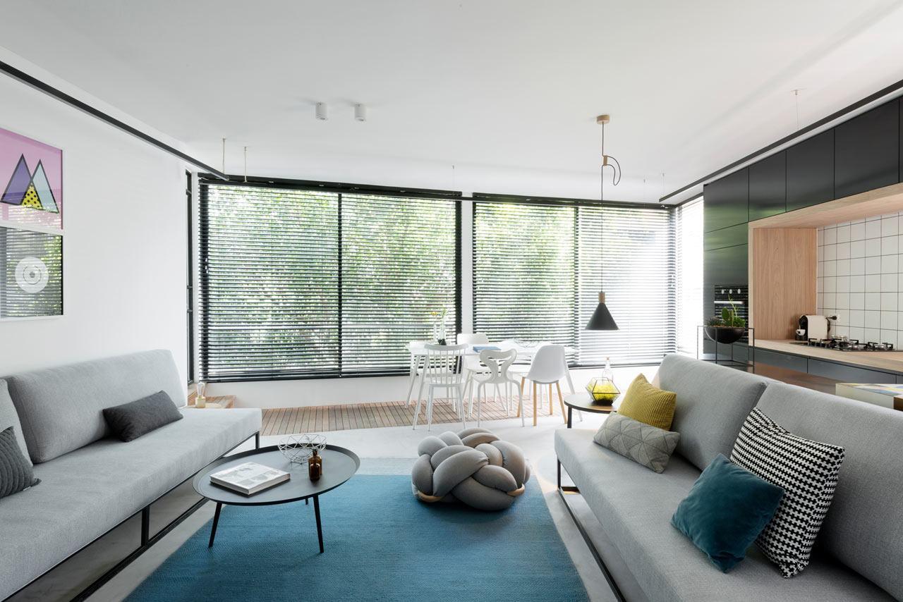 Salas decoradas simples