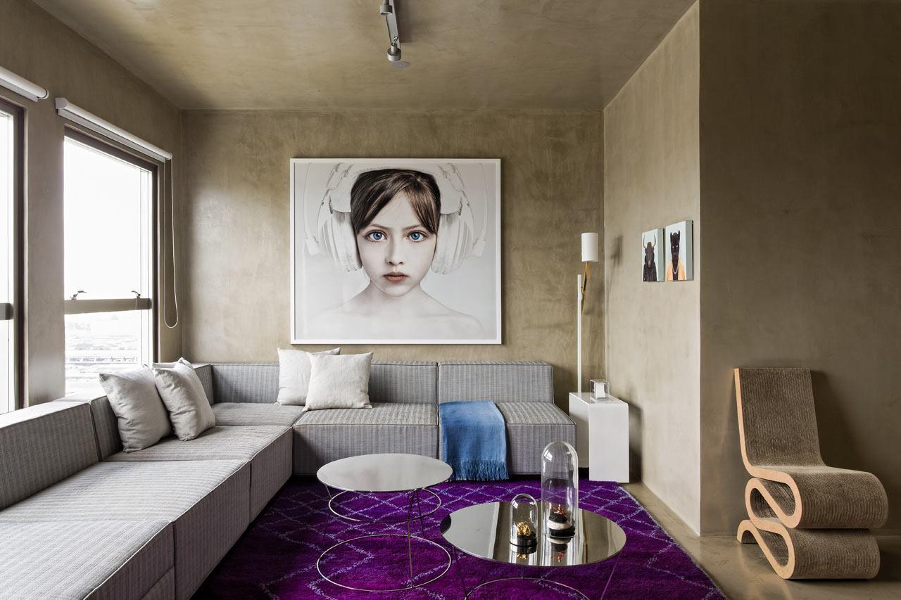 Em salas decoradas: o tapete destaca esta sala decorada, transformando em uma peça chave na decoração