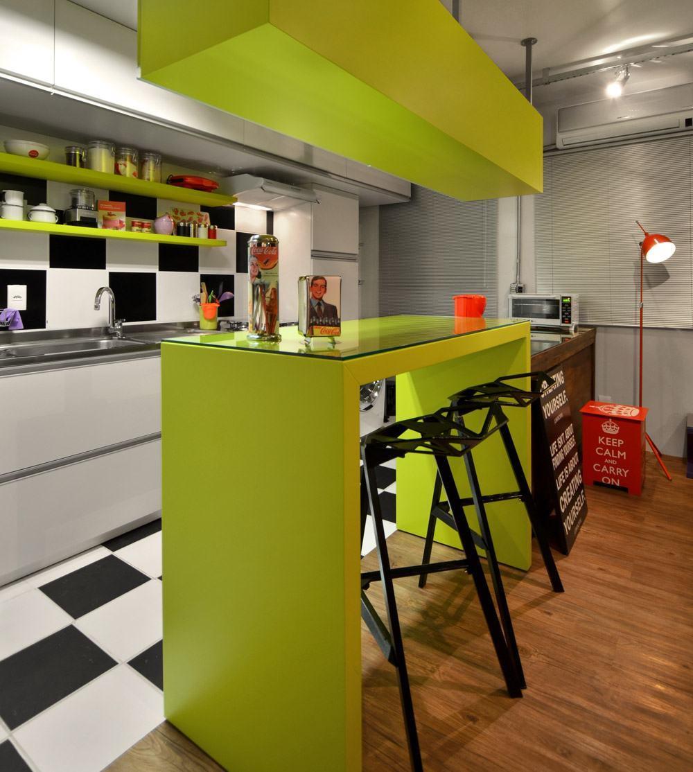 cozinha verde : Cozinha Verde: 65+ Projetos, Modelos e Fotos com a Cor!
