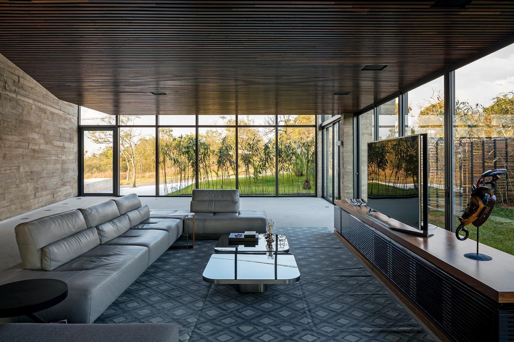 Pruzak Com Sala De Luxo Com Tv Id Ias Interessantes Para O  -> Salas De Luxo Decoradas