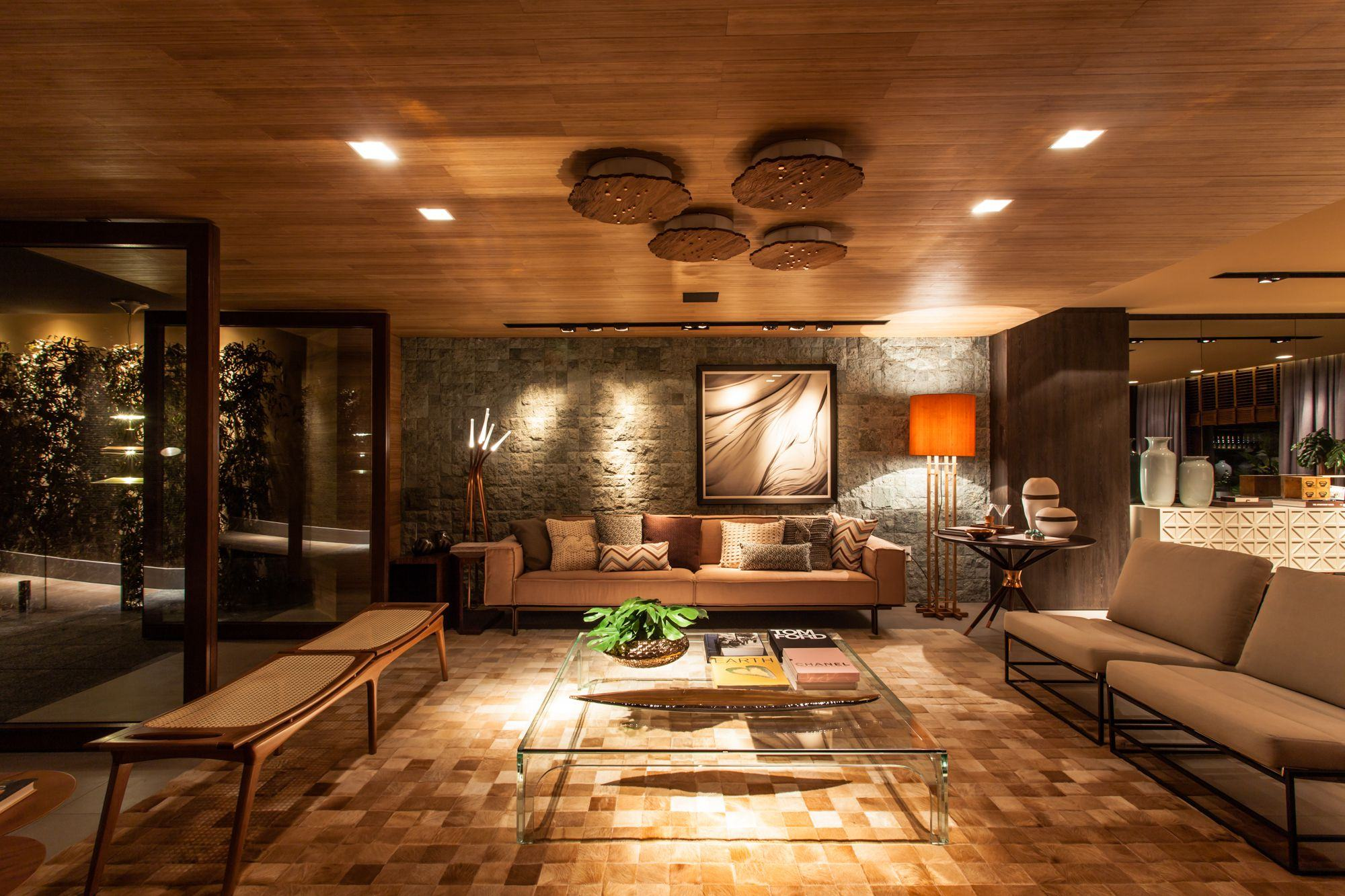 Salas De Luxo 60 Ideias E Fotos Inspiradoras  -> Acabamento De Sala E Cozinha