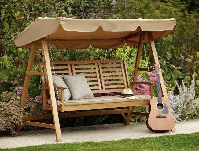balanço para jardim é ideal para relaxar ao ar livre