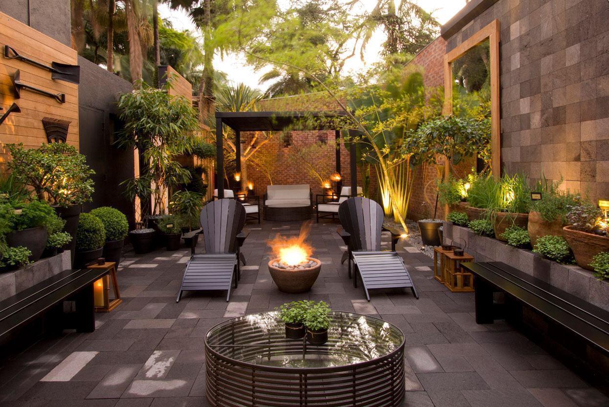 Banco de Jardim 65+ Modelos e Fotos Incríveis! # Decoração De Ambientes Externos Fotos