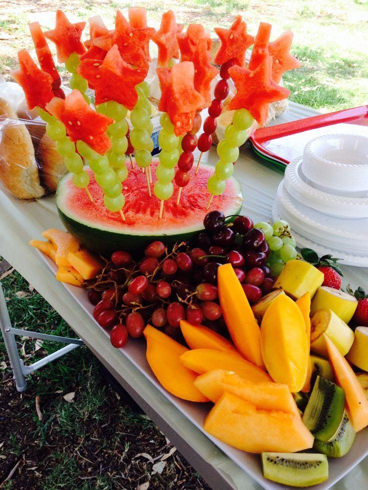 Mesa de Frutas 60+ Fotos de Decoraç u00e3o e Refer u00eancias! -> Como Decorar Frutas Para Ano Novo