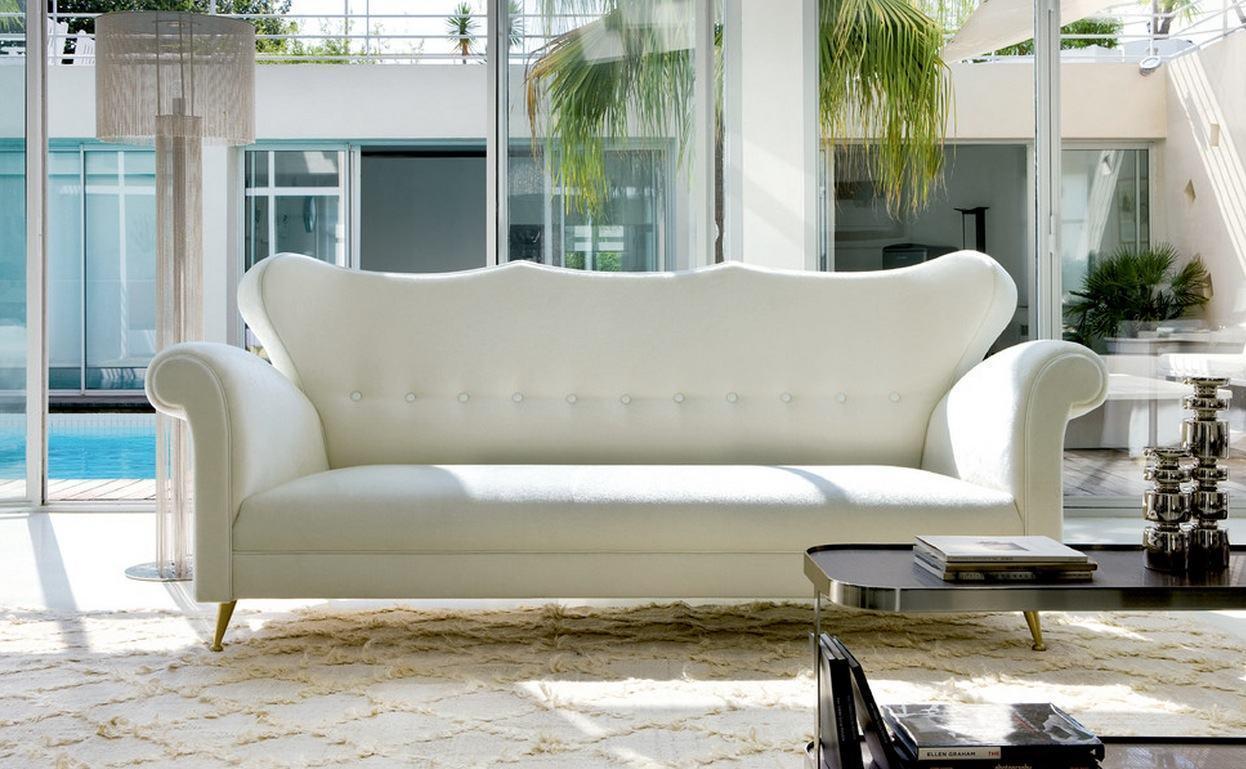 Sof branco 60 inspira es e fotos de decora o for Mobili 13 casa