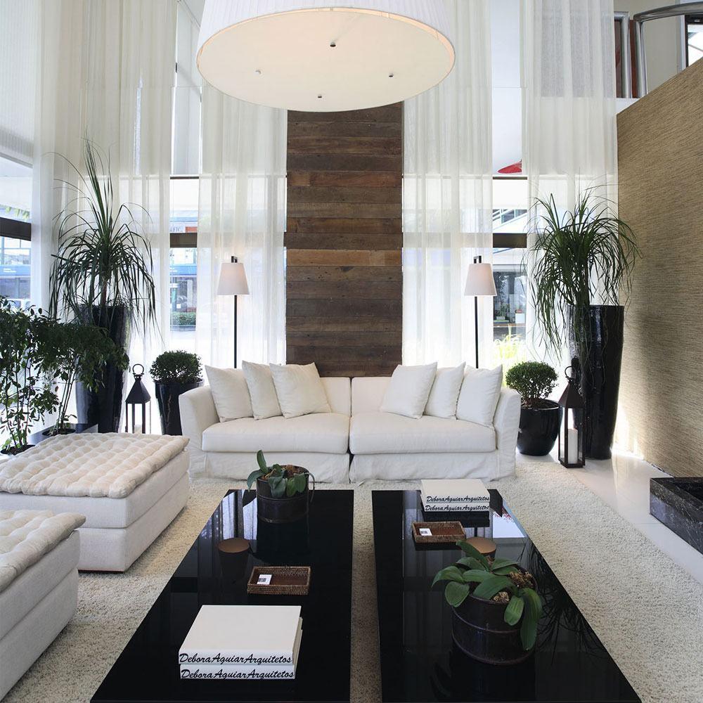 60 Salas Com Sofá Vermelho Incríveis: Sofá Branco: 60+ Inspirações E Fotos De Decoração