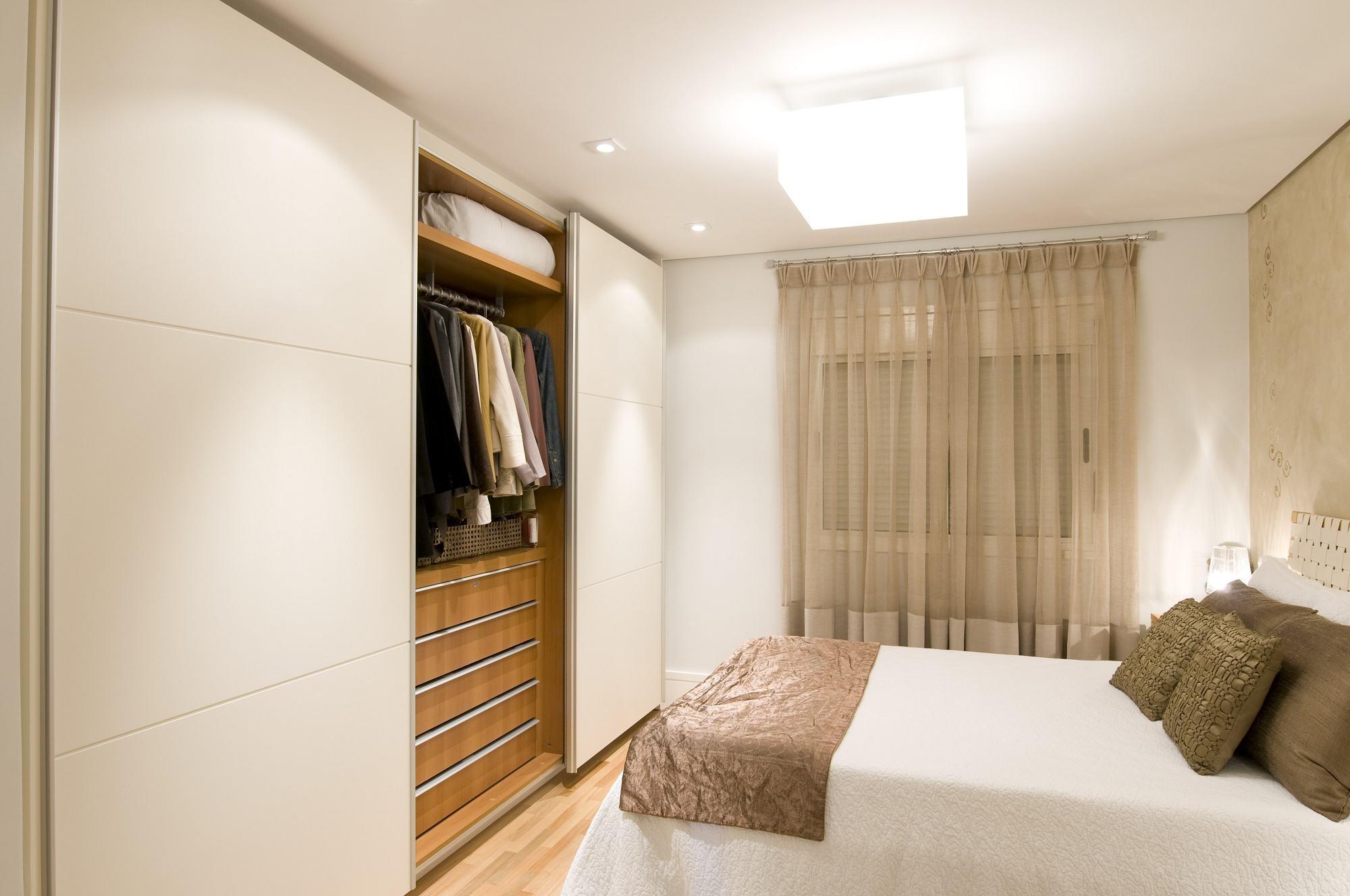 Fotos De Quarto De Casal Pequeno Planejado Redival Com ~ Quarto De Solteiro Planejado Para Apartamento Pequeno