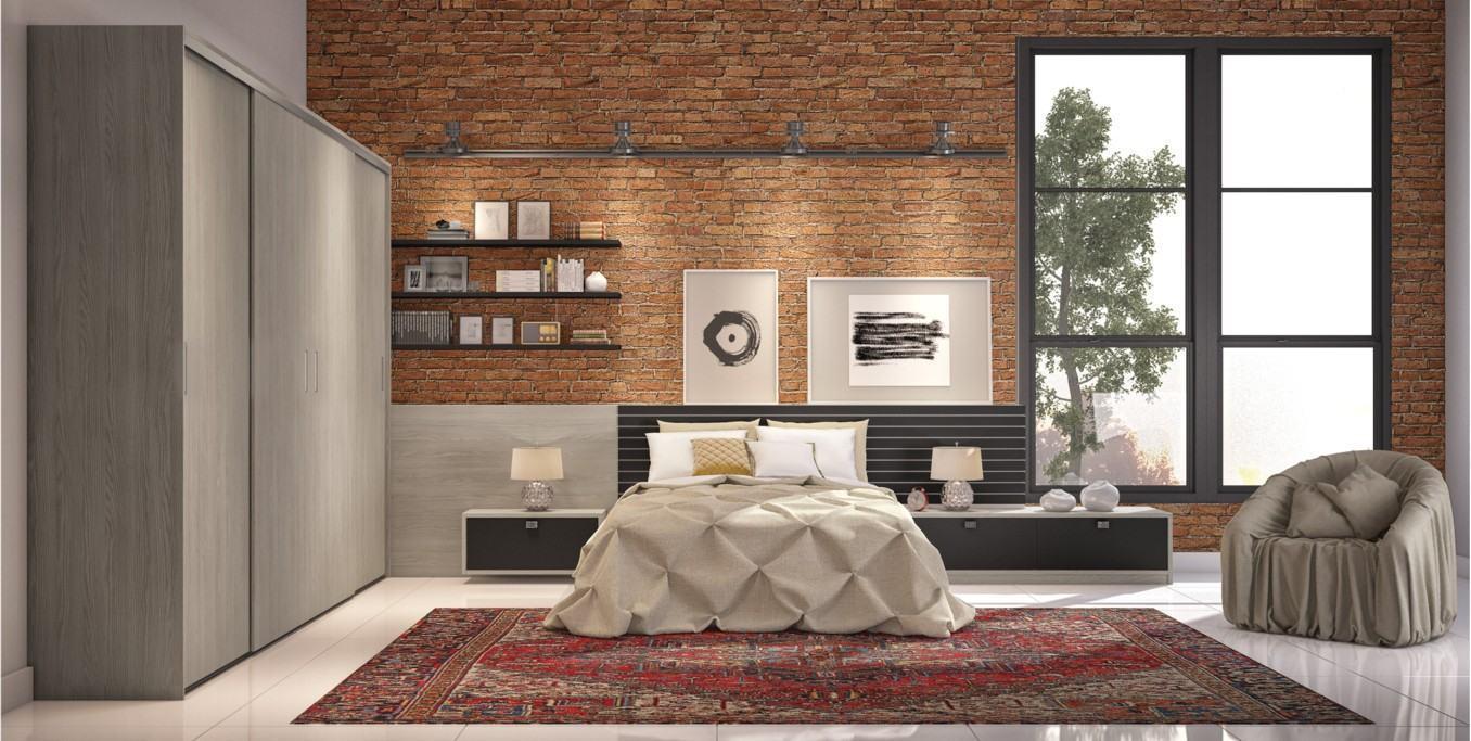 Quarto de casal planejado 60 projetos fotos e ideias - Fotos de lofts decorados ...