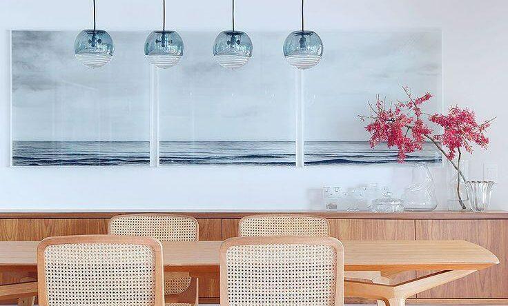 Mesas de Jantar Modernas: 60+ Projetos, Dicas e Fotos!