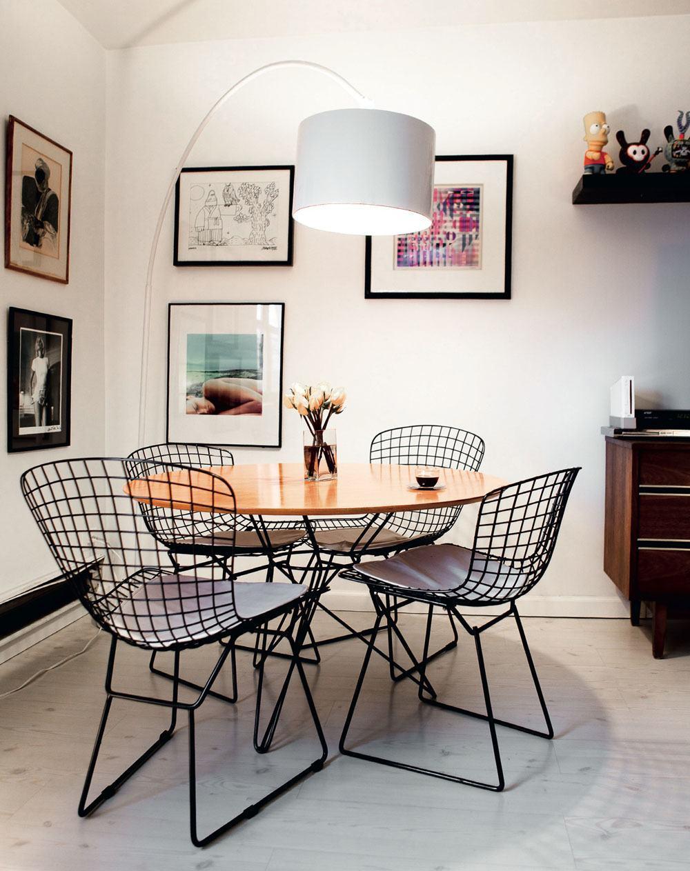Mesas de jantar modernas 60 projetos dicas e fotos for Modelos de comedores pequenos