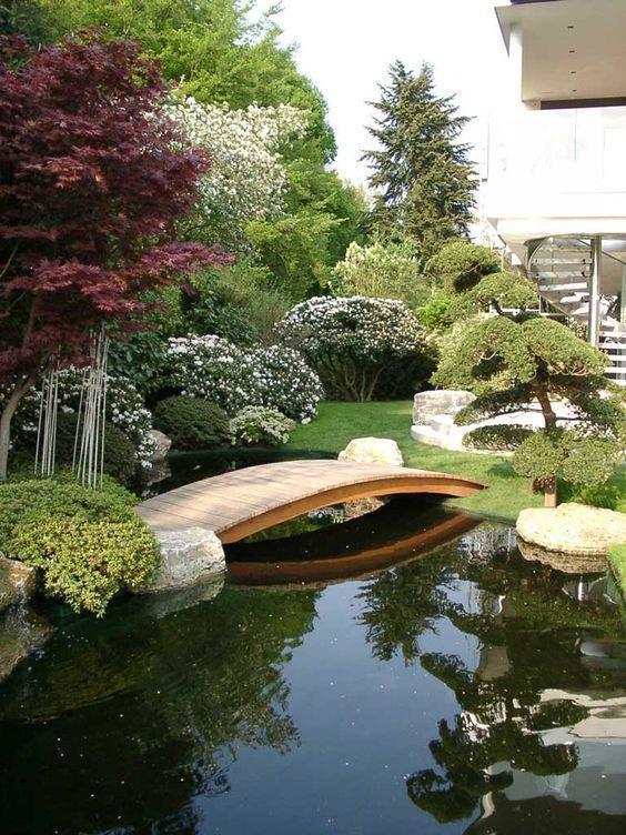 jardim japon s 60 fotos para criar um espa o incr vel On paisajismo estanques