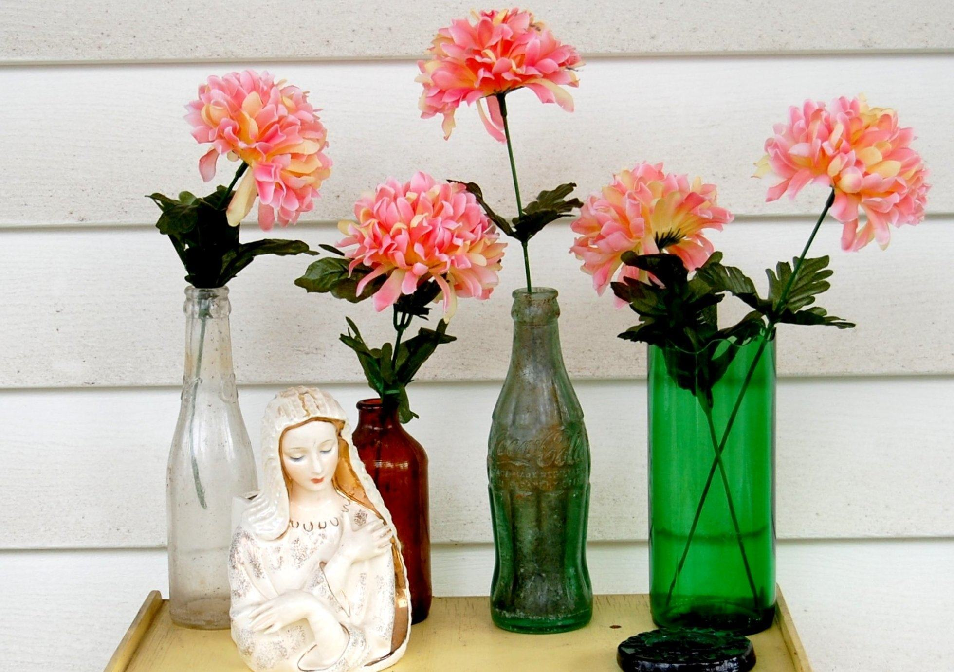 Artesanato com garrafa de vidro: 80 dicas e fotos incríveis