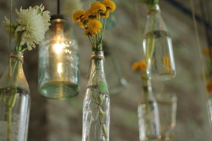 Tutorial: garrafas decoradas com barbante para festa de casamento - eNoivado