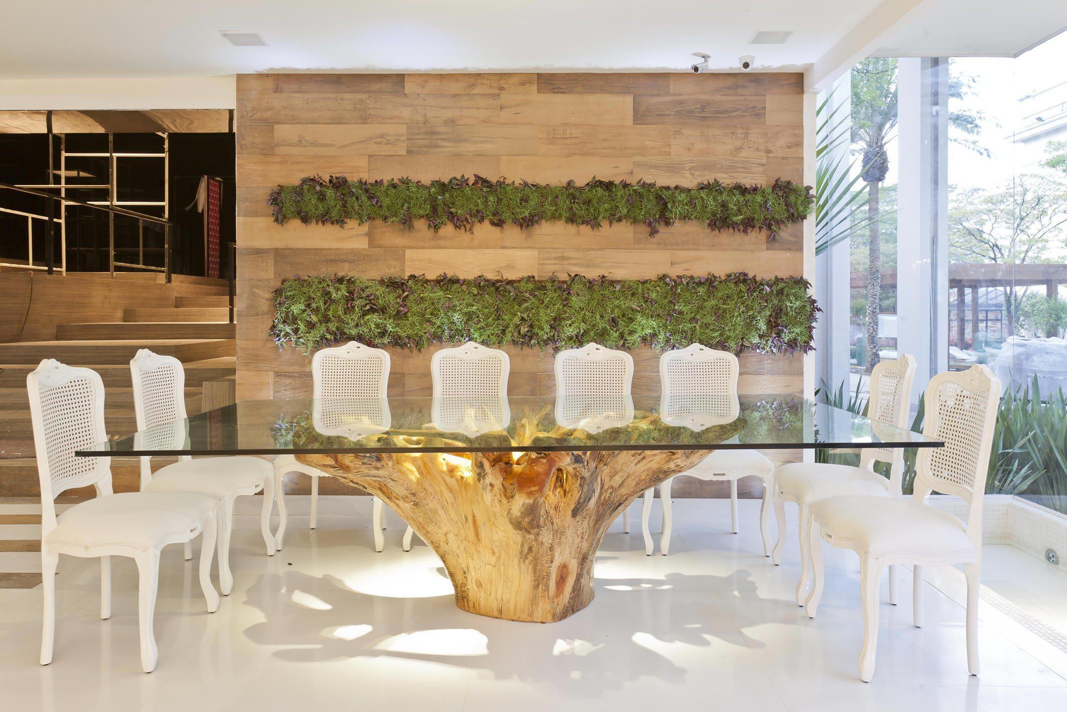 Mesa De Vidro 60 Modelos De Jantar Redondos 4 E 6 Cadeiras -> Cadeiras Para Sala De Jantar Acrilico