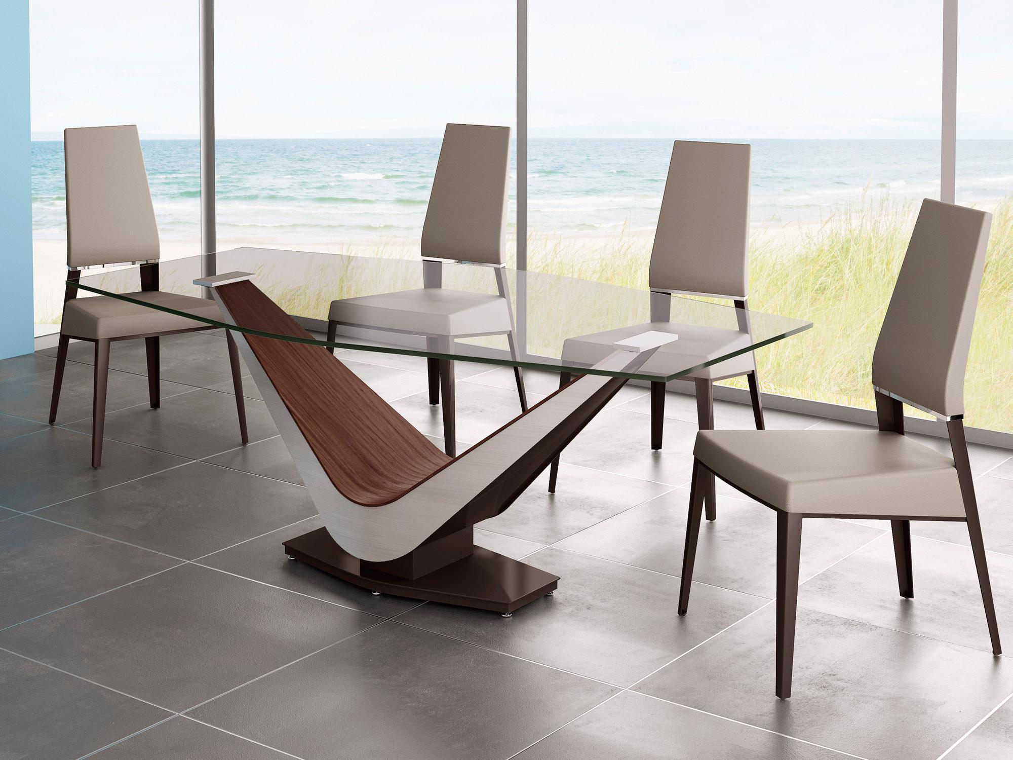 20170120Imagem46 2000×1500  Salas  Pinterest Custom Bases For Glass Dining Room Tables Inspiration