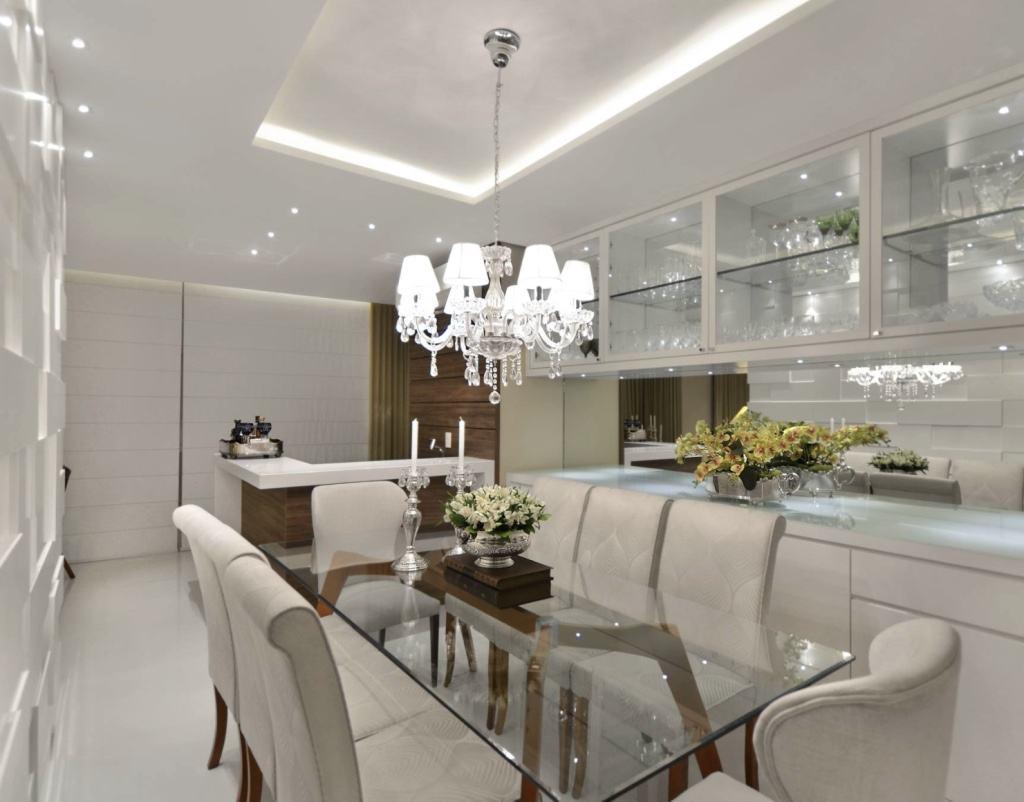 Mesa de vidro 60 modelos de jantar redondos 4 e 6 cadeiras for Modelos de mesas