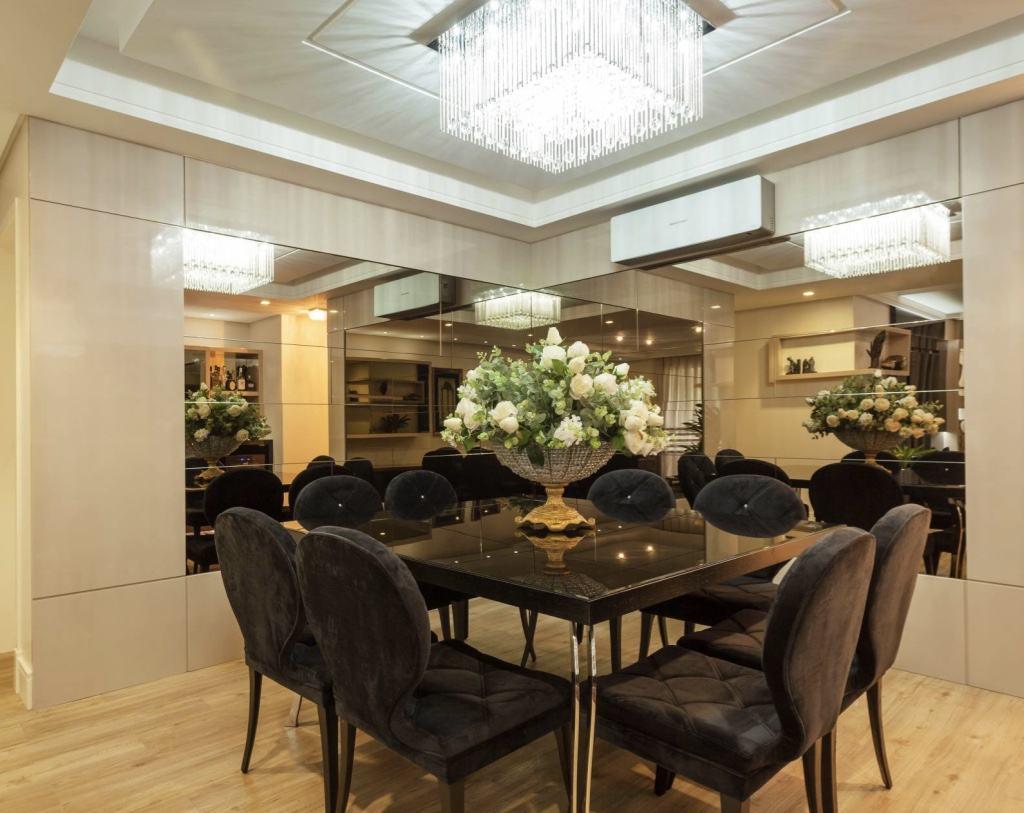 Mesa De Vidro 60 Modelos De Jantar Redondos 4 E 6 Cadeiras -> Sala De Jantar Pequena Mesa Redonda Ou Retangular
