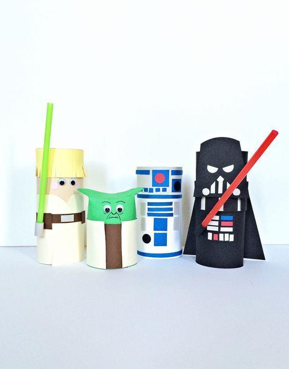 Lindos bonecos infantis da série Star Wars.