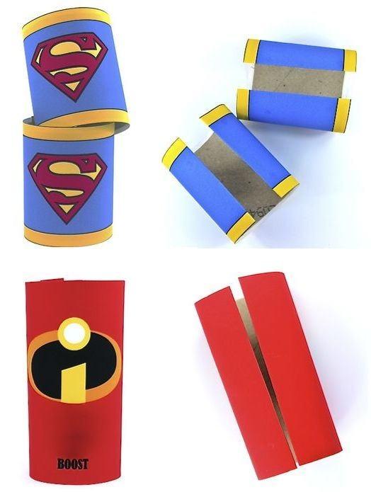 Cole a identidade dos super-heróis favoritos.