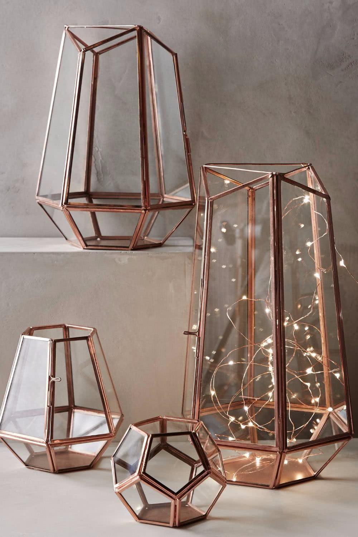 lanternas decorativas 60 modelos e fotos incr veis. Black Bedroom Furniture Sets. Home Design Ideas