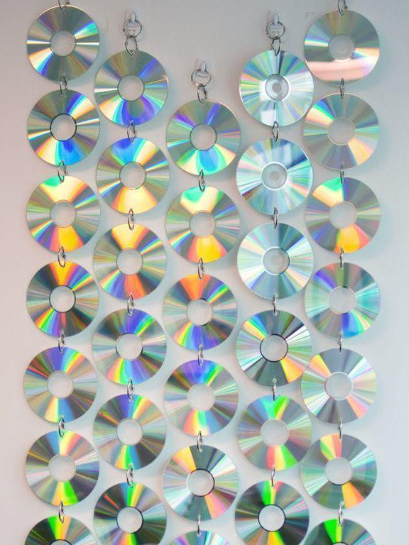 Decoração Com Cd ~ Artesanato com CD 70 Ideias e Tutoriais Passo a Passo