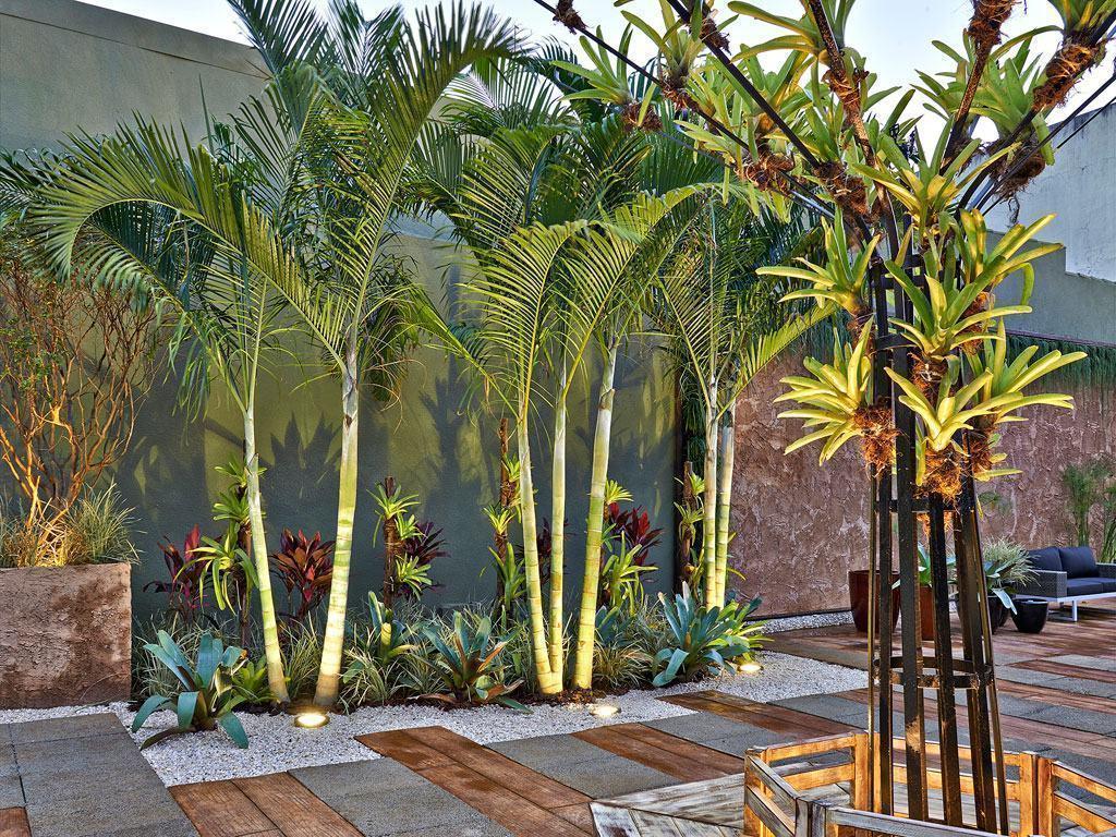 Jardim simples 60 ideias fotos e passo a passo for Vaso piscina