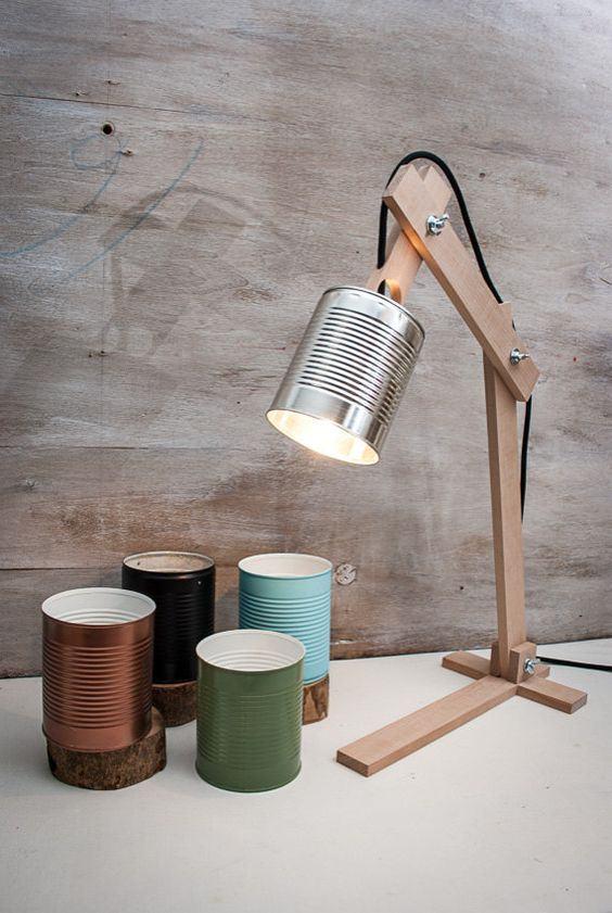 Uma maneira simples para fazer uma bela luminária.