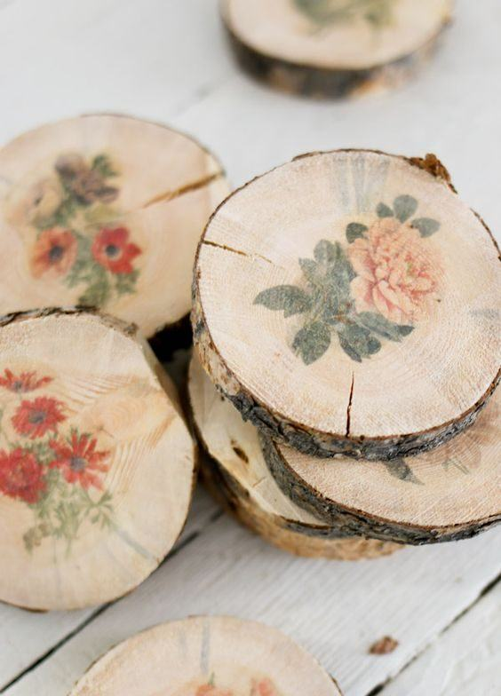 Artesanato em madeira: 134 ideias incríveis e passo a passo