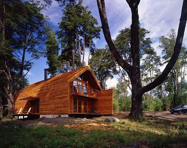 Casa bonita e atraente mesmo com um formato tradicional