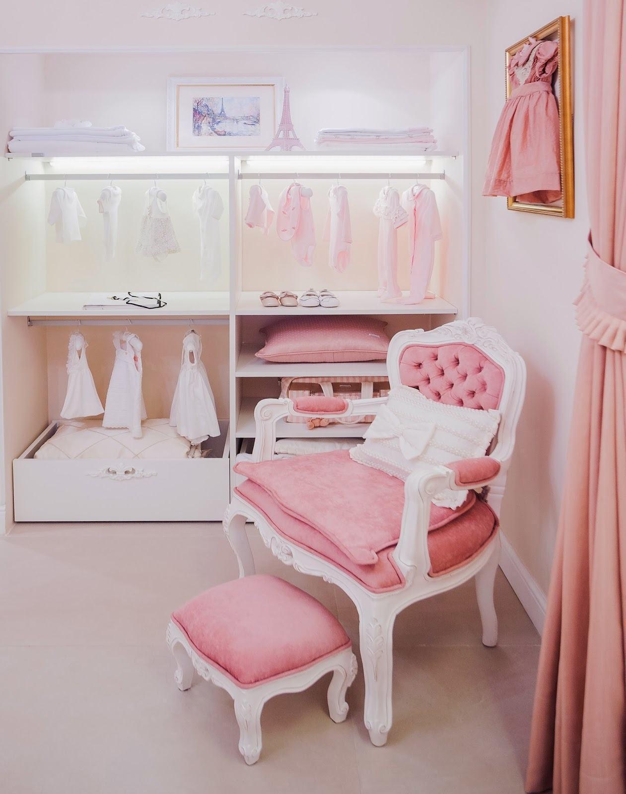 Quarto De Bebe Rosa A Id Ia De Beleza Dom Stica ~ Papel De Parede Para Quarto De Bebe Rosa E Marrom