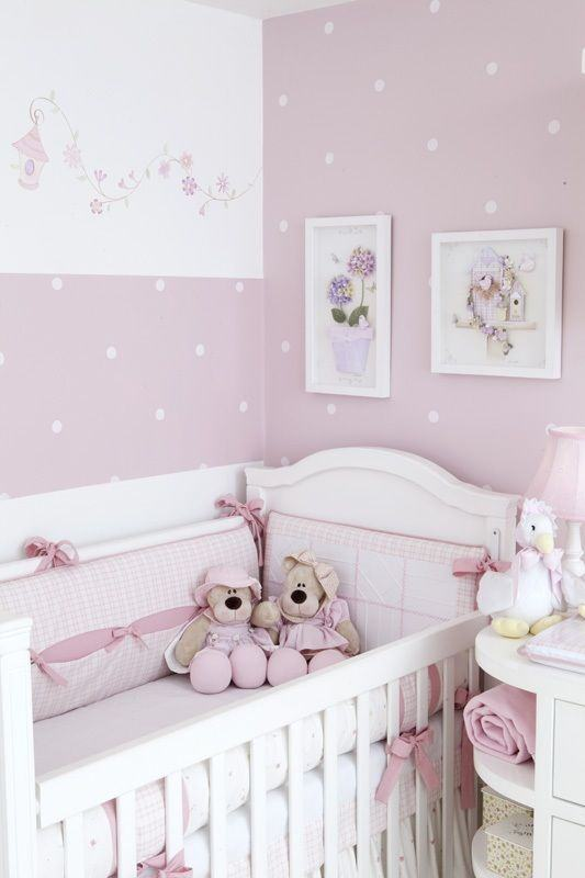 Quarto de beb rosa 60 fotos e inspira es incr veis for Cuartos decorados kawaii