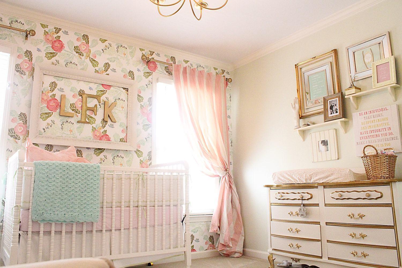 Quarto Bebe Rosa Pictures To Pin On Pinterest ~ Papel De Parede Para Quarto De Bebe Rosa E Marrom