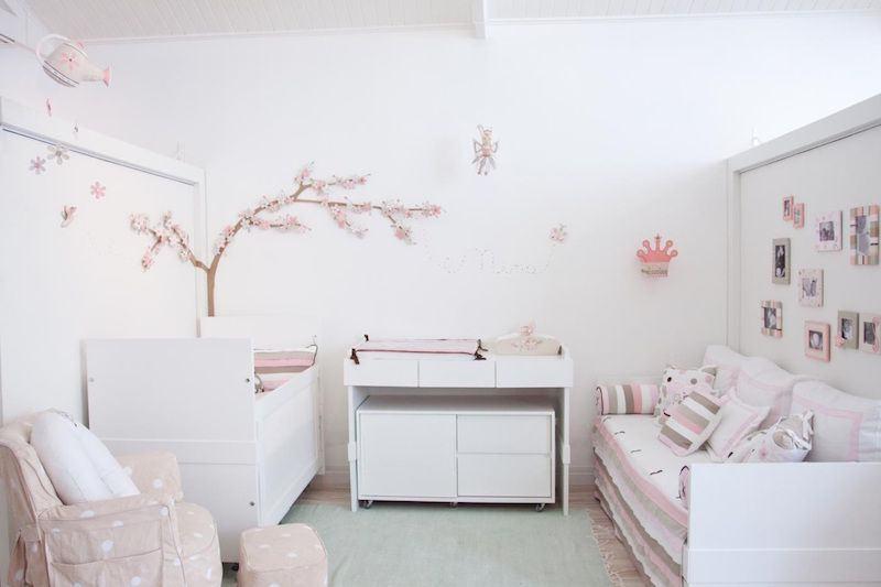 Quarto de Bebê Rosa 60+ Fotos e Inspirações Incríveis! ~ Quarto Tema Rosa