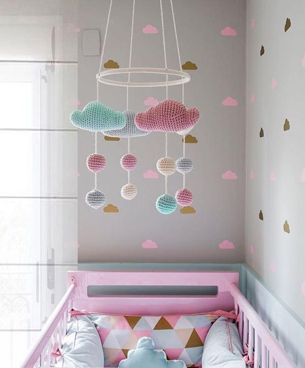 Quarto de beb rosa 60 fotos e inspira es incr veis for Mobili quarto