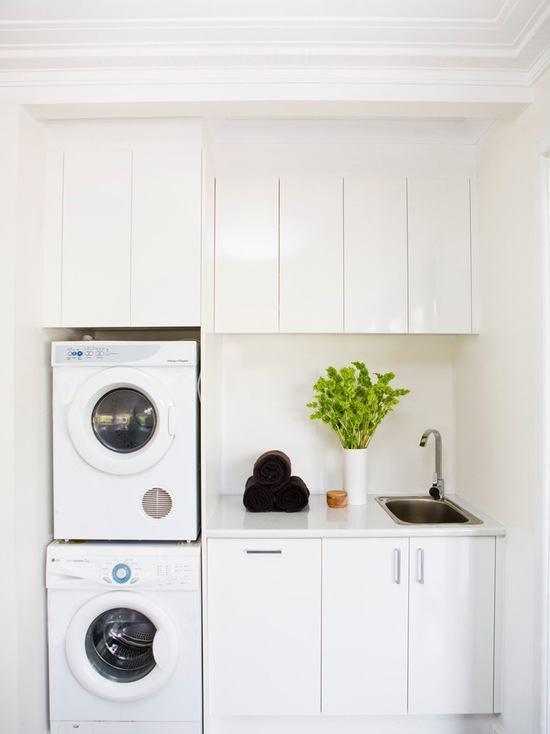 Lavanderia pequena: 60 dicas e inspirações para organizar com eficiência