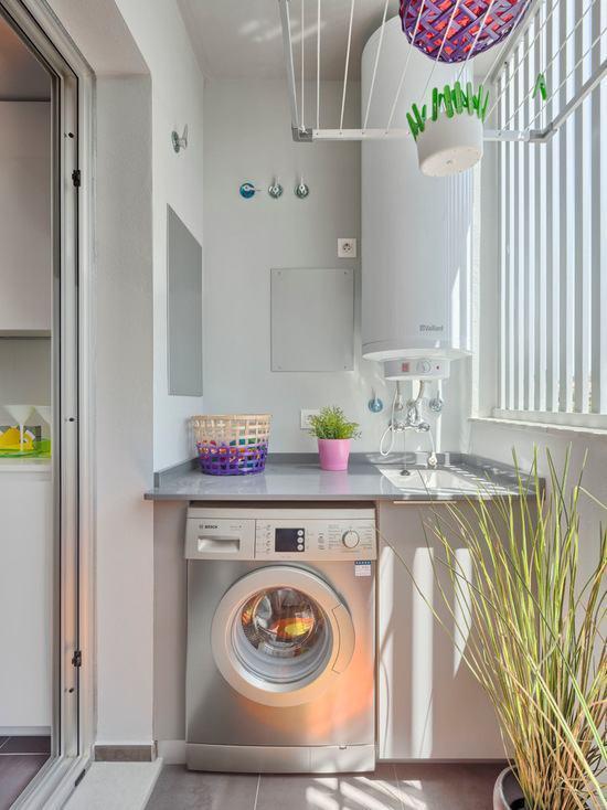 Lavanderia pequena 60 dicas e inspira es para organizar for Lavadero pequenos