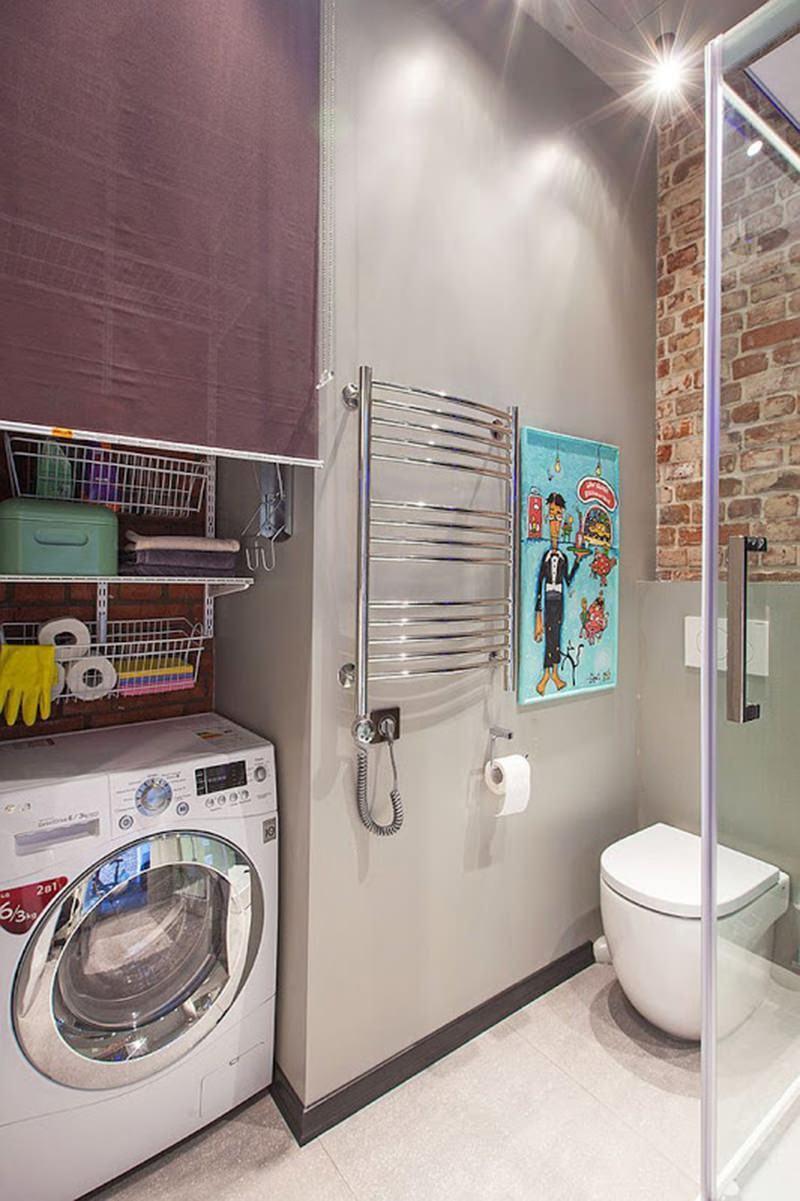 Lavar Azulejo Banheiro : Lavanderia pequena dicas e inspira?es para organizar