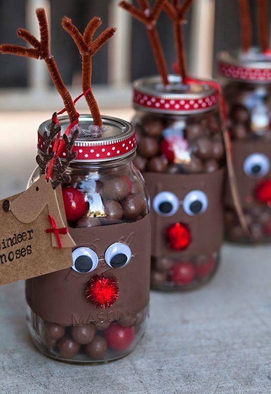 Potes divertidos para guardar chocolates