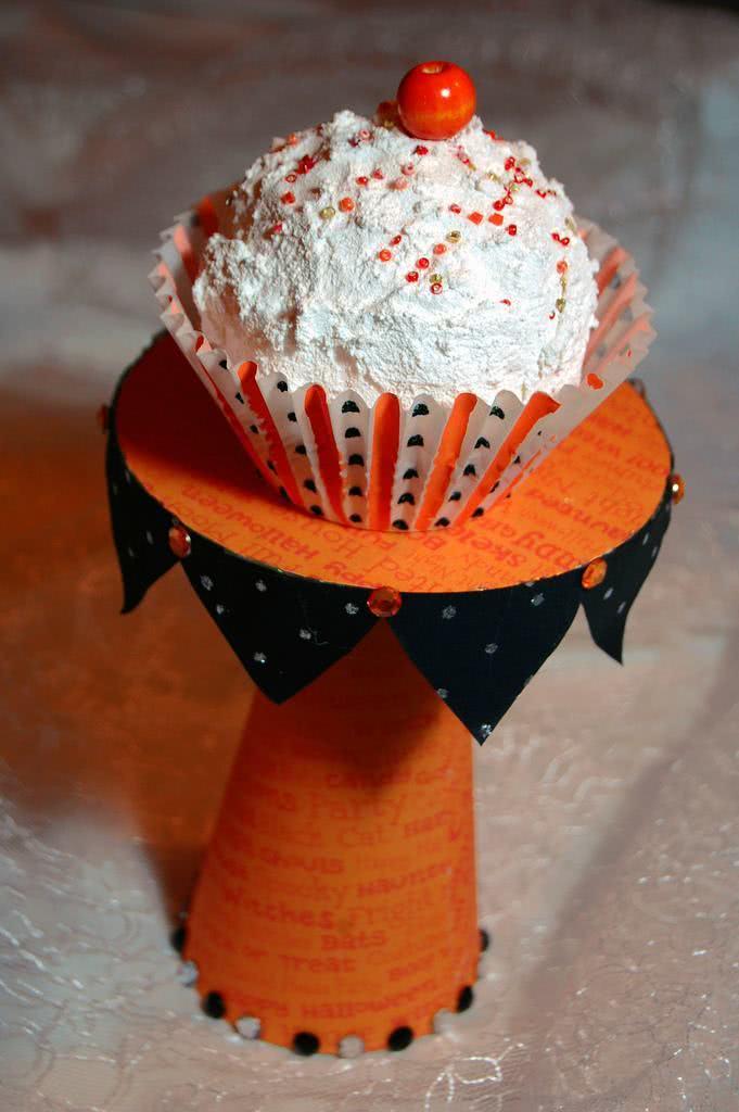 Suporte para cupcake e sobremesas de papelão