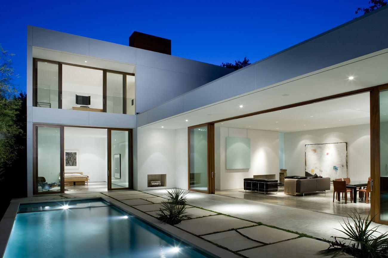 Casas com piscinas 60 modelos projetos e fotos for Modelos de casas grandes