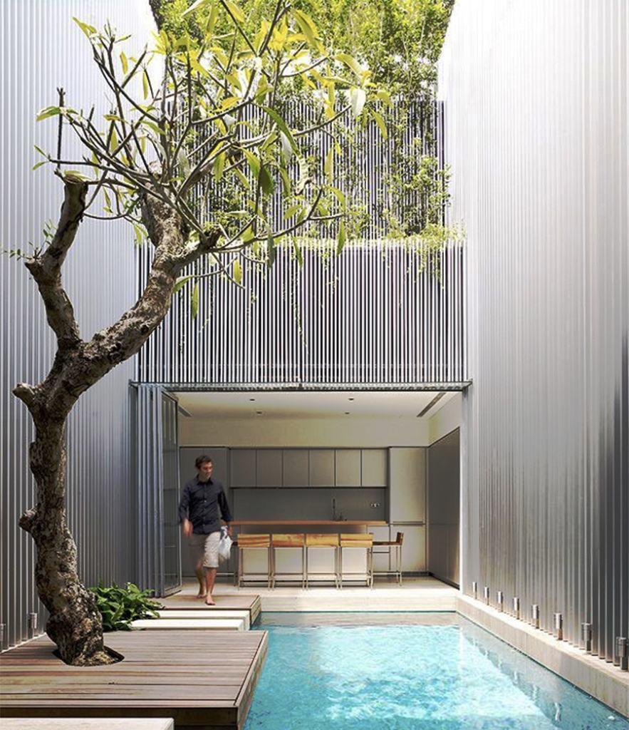 Casas Com Varanda 60 Modelos Projetos E Fotos: Casas Com Piscinas 60 Modelos Projetos E Fotos Planos De